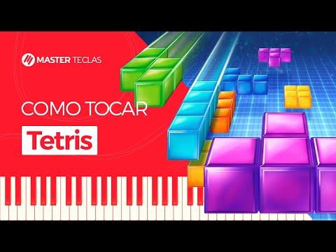 💎 Tetris  Piano Tutorial - Master Teclas 💎