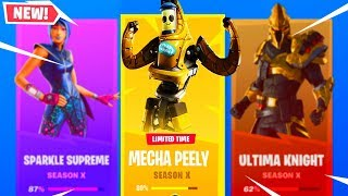 'NEW' MECHA PEELY SKIN à Fortnite! (P-1000 SKIN BUNDLE)