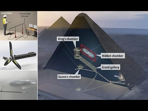 THE GREAT PYRAMID OF GIZA'S 'HIDDEN VOID'