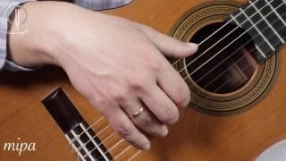 Уроки классической гитары. Дмитрий Нилов. Арпеджио. Тактильный контакт.