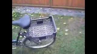 Багажник на велосипед.Самодельный багажник для велосипеда
