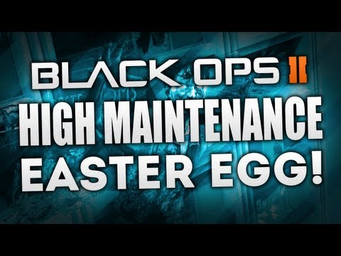 "Black Ops 2 ZOMBIES ""Die Rise"" - ""HIGH MAINTENANCE"" - MAXIS Easter Egg COMPLETE Achievement Guide!"