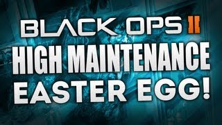 """Black Ops 2 Zombies """"die Rise"""" - """"high Maintenance"""" - Maxis Easter Egg Complete Achievement Guide!"""
