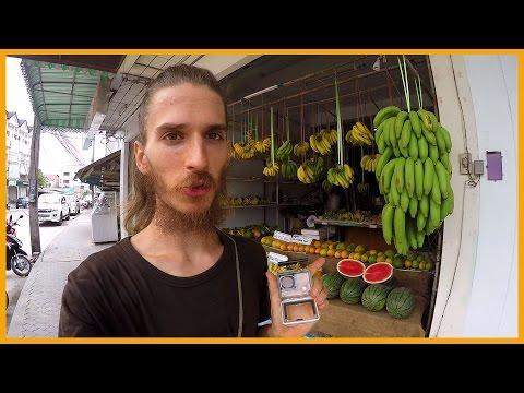 MY DAILY FOOD SHOPPING ON KOH PHANGAN, THAILAND
