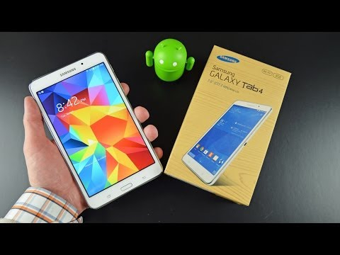 Samsung Galaxy Tab 4 7.0: Unboxing & Review