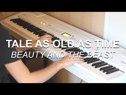 """Tale As Old As Time (Beauty and the Beast)"" - Piano cover by Joel Sandberg + Free sheet music"