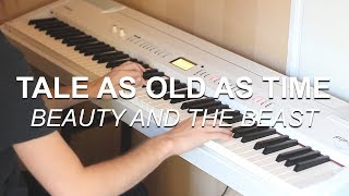 """""""Tale As Old As Time (Beauty and the Beast)"""" - Piano cover by Joel Sandberg + Sheet music"""