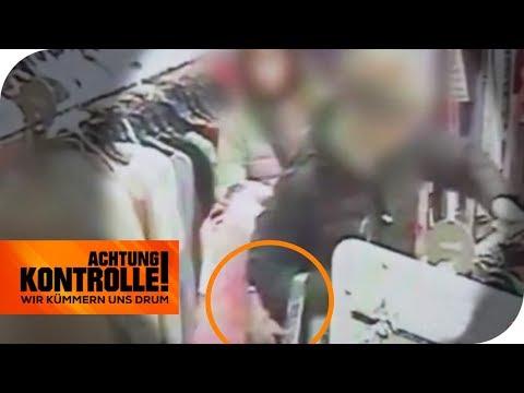 Freche Taschendiebe inflagranti erwischt: Wie hoch ist die Strafe?   Achtung Kontrolle   kabel eins