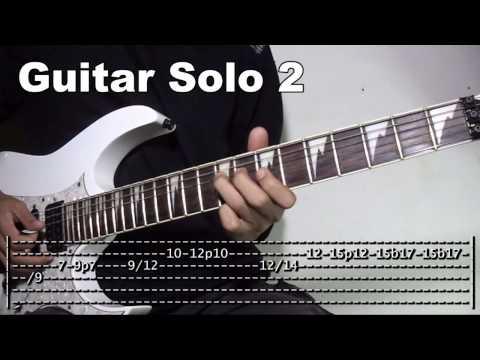 Banal Na Aso Santong Kabayo Guitar Solo Lesson Slowed Down Tutorial (WITH TABS)