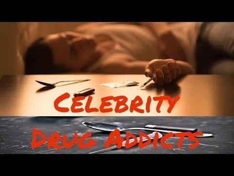 Top 20 Surprising Celebrity Drug Addicts