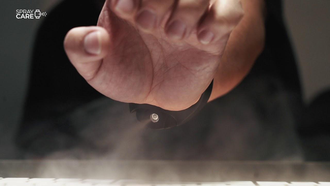 Kickstarter Rilis Penyemprot Disinfektan SprayCare Mirip SpiderMan