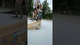Indy Grab on Skateboard