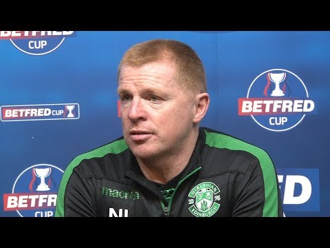 Hibernian 24 Celtic  Neil Lennon Full Post Match Press Conference  Betfred Cup