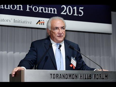 AIF2015 【キーノートスピーチ】 世界経済の現状と行く先