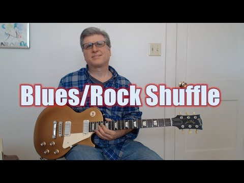 Blues/Rock Shuffle in G, 12 Bar Solo (Guitar Lesson with TAB)