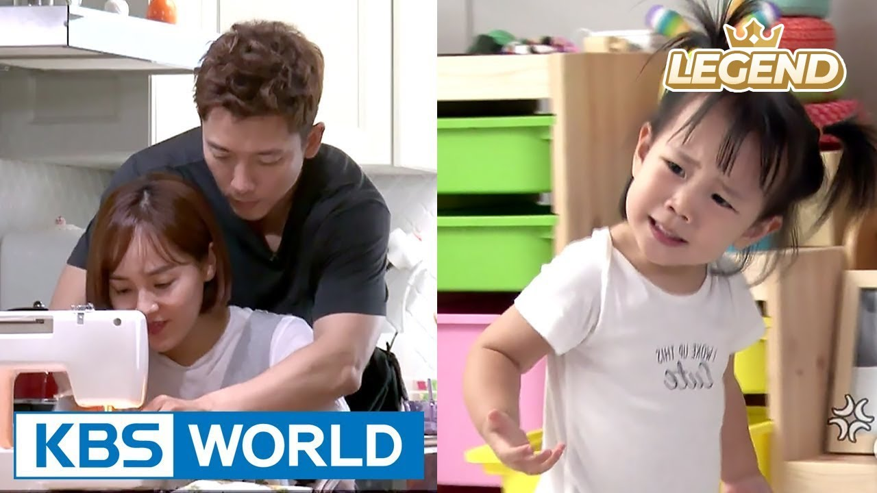 Rohui is jealous of her parents who show affection towards each other!  [TROS / 2017 09 03]