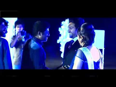 Actress shafna wedding Reception sajin±shafna