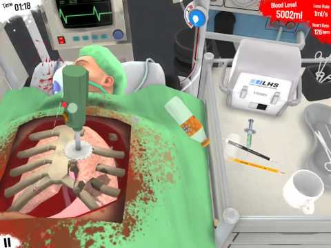 [Surgeon Simulator Touch] We Are Heart Surgeons (surgeon simulator)