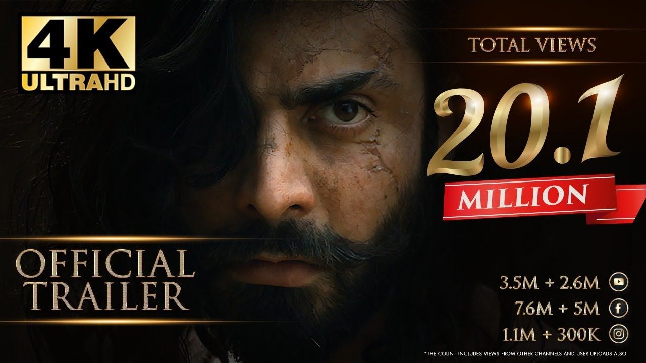 The Legend of Maula Jatt (2019) - Official First Look Trailer
