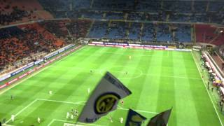 Ranocchia sbaglia gol a porta vuota - Inter - Atalanta 3 a 4 (07/04/2013)