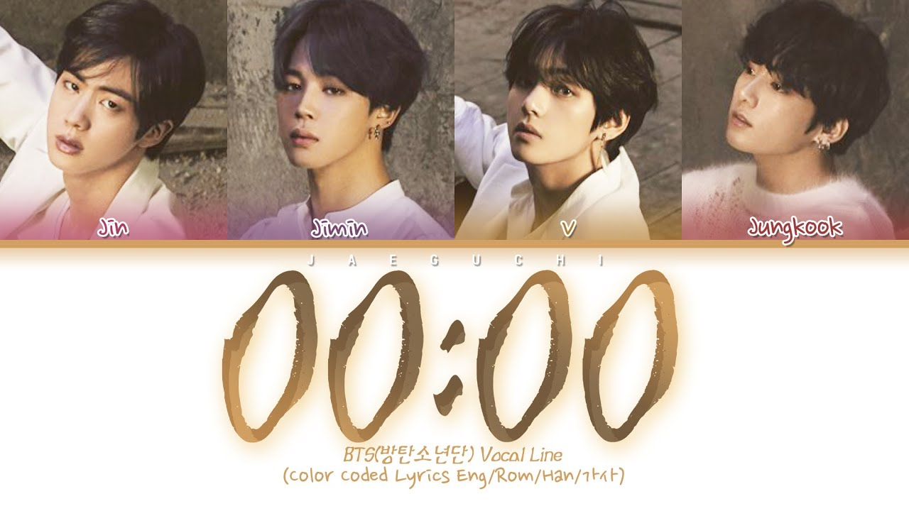BTS – 00:00 (Zero O'Clock) (English Translation) Lyrics