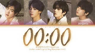 BTS (방탄소년단) - 00:00 (Zero O'Clock) (Color Coded Lyrics Eng/Rom/Han/가사)