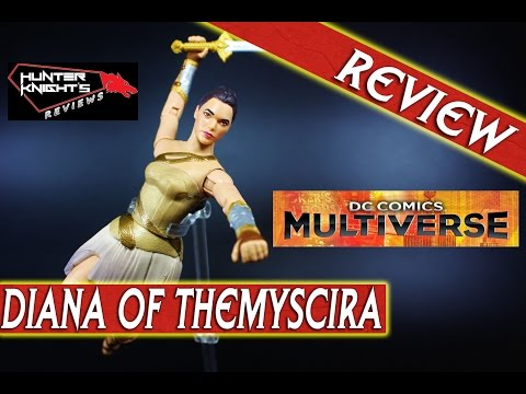 Review: DIANA OF THEMYSCIRA Wonder Woman movie Dc Multiverse 6 inch figure by Mattel