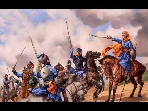 19) Mai Bhago- Muktsar di jung (Guru Gobind Singhji)