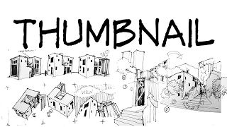 Thumbnail sketches - Architecture Daily Sketches