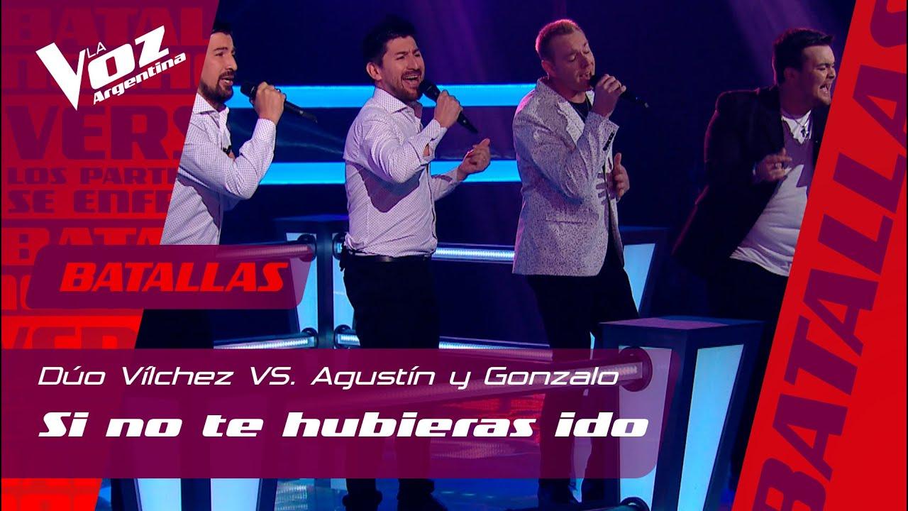 """Vilchez vs. Vargetto y Boelaert - """"Si no te hubieras ido"""" - Batallas - La Voz Argentina 2021"""