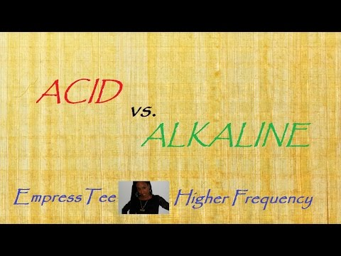 EMPRESS TEE HIGHER FREQUENCY #7 Acid vs. Alkaline