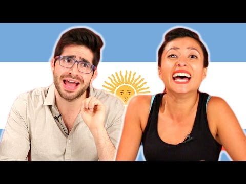 People Guess Argentinian Sayings