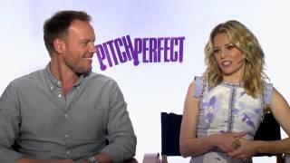 Elizabeth Banks & Jason Moore 'Pitch Perfect' Interview!