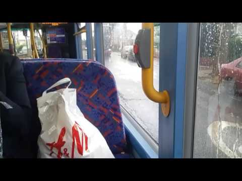 """London with Rosalina Bloopers #4 - """"Pathetic Fallacy at its best"""" Rainy Day on Route 332 (LK15 CSX)"""