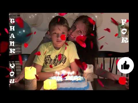 #121 КВЕСТ Готовый Сценарий на День рождения ребенку от 10 лет / Сыну отметили 11 лет/ Веселый день