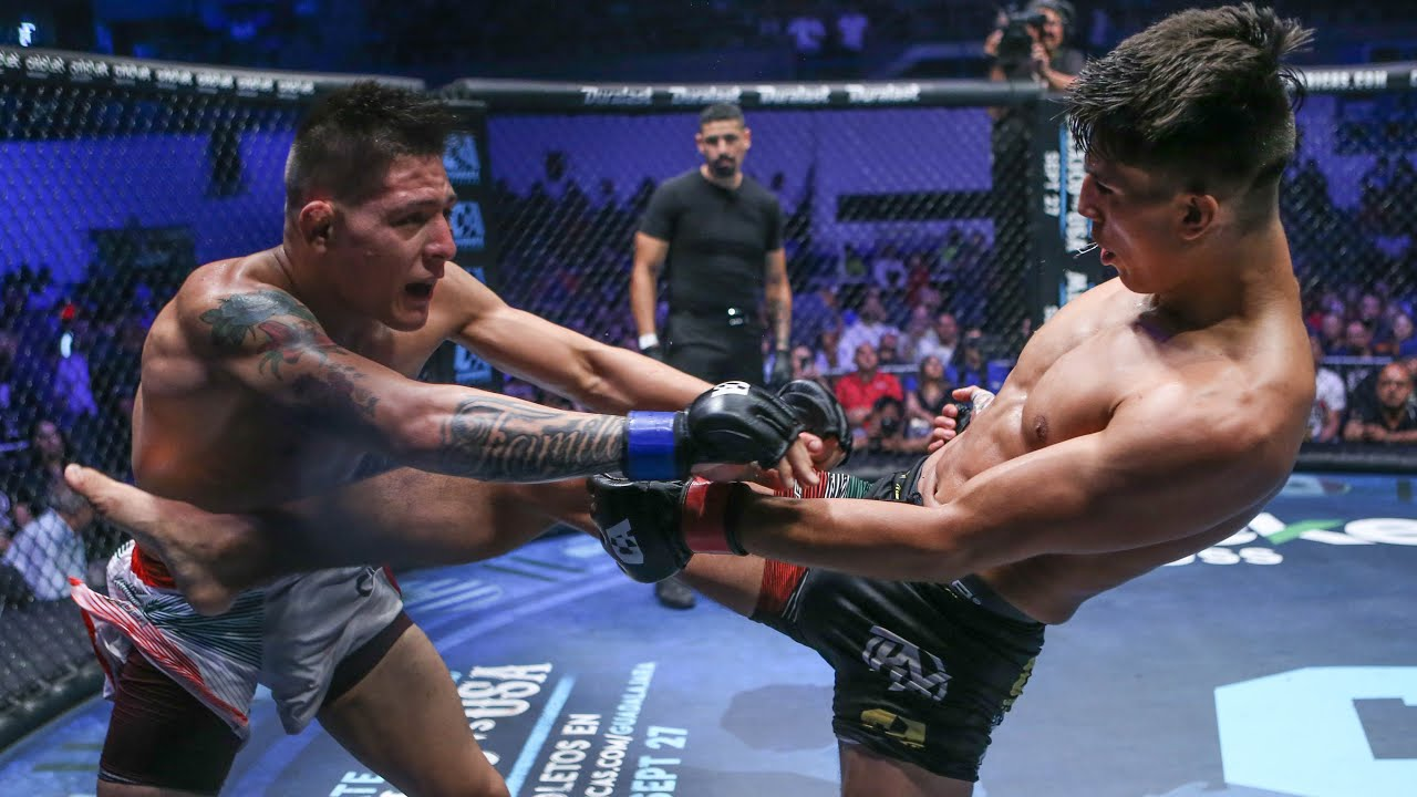 Cristian Perez vs Jair Perez Full Fight | MMA | Combate Mexicali