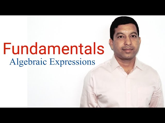 What is Algebra? (Algebraic Expressions:- Chapter 9 for class 8) NCERT/CBSE Maths