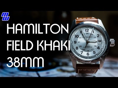 f9b3e7b91a7 Hamilton Field Khaki 38mm H70455553 - H10 model - Review ...