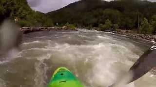 Kayaking the Upper Ocoee River, TN