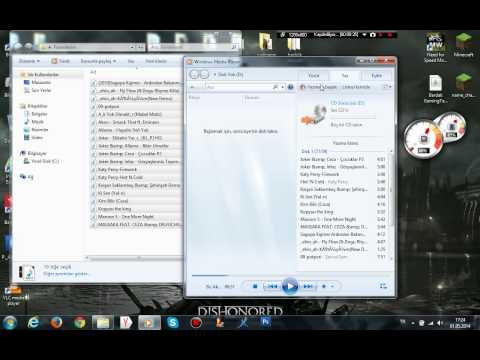 Windows 7 CD'ye Müzik Yükleme (Track-Sıralı)