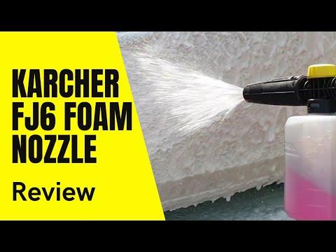 Karcher FJ6 foam nozzle review