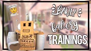 Treinamento para chef!   Bakiez treinamentos padaria   Roblox