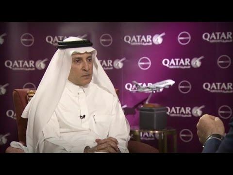 Qatar Airways CEO slams laptop ban