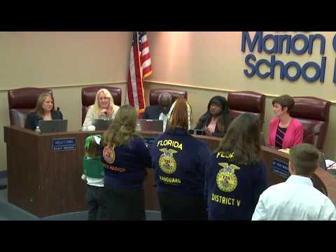 Marion County School Board Meeting 02/13/2018