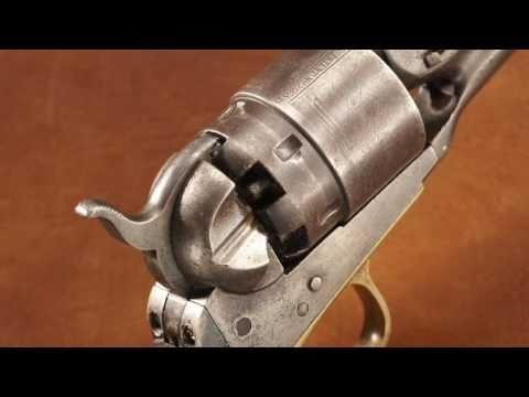 NFM Treasure Gun - Mosby Raider Captured Colt 1860 Army Model Percussion  Revolver