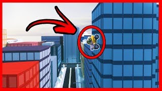 NEW TIP TO CLIMB THE WALLS IN JAILBREAK - ROBLOX