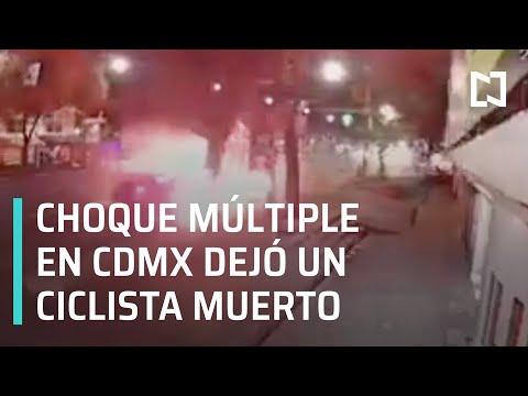 Accidente múltiple en el Eje Central, CDMX - Expreso de la Mañana