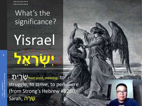 TAVTEACH Significance Of The Name Change From Jacob To Israel