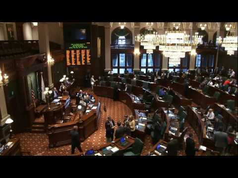 Illinois House budget bill debate, 5-25-2016
