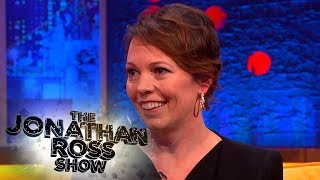 Olivia Colman Talks About Wetting Herself On Stage - The Jonathan Ross Show